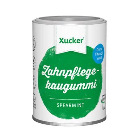 100 g Xucker Xylit-Kaugummis ohne TiO2, Spearmint