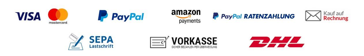 Versand und Zahlungsanbieter