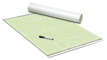 FOOTBALL – Tactics poster (Green) 600 x 800 mm