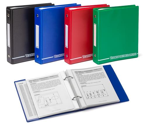 Kartotheken Mappe (DIN A6) - 4 Farben