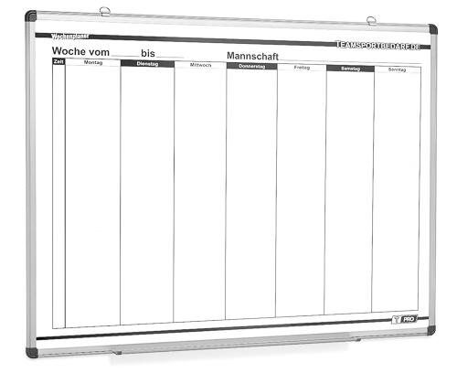 Planerboard - Wochenplaner (750 x 1000 mm)