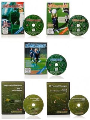 FUSSBALL - DVD-SET (1.000 Videoeinheiten)