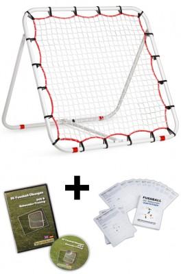 Rebounder (1,10 x 1,10 m) - inkl. DVD und Kartothek