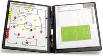 FOOTBALL - magnetic tactics map (leather)