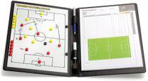 FUSSBALL - magnetische Taktikmappe (Leder)
