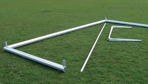 Jugendfußballtor 5 x 2 m zerlegbar (inkl. Netz)