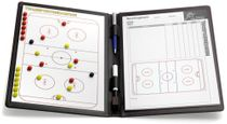 ICE HOCKEY - Magnetic Tactic Folder (leather)