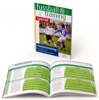 """Fussball Trainingsbuch - """"Positionstraining - Defensive"""""""
