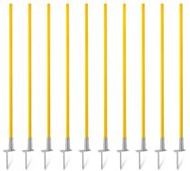 Slalom poles with hinge (1.20 m) – set of 10