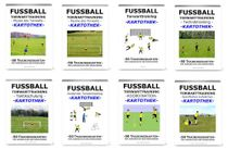 FUSSBALL - Torwarttraining SET (8 Kartotheken)