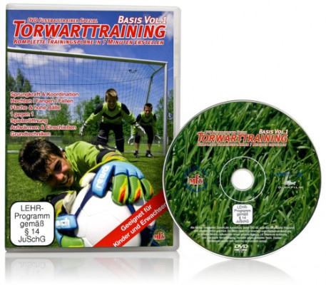 "DVD - Fussballtrainer ""Torwarttraining - Basis"""