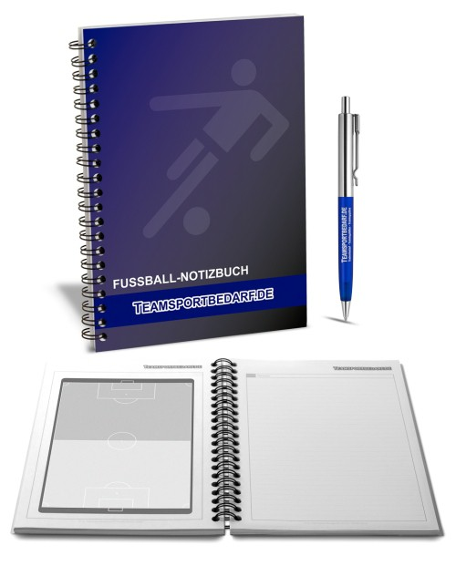 Notebook for the football coach - 80 pages