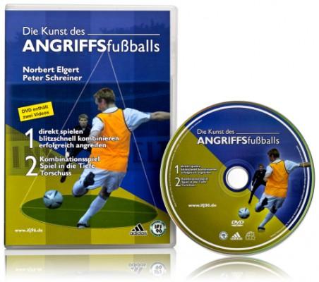 DVD - Die Kunst des Angriffsfußballs 1+2
