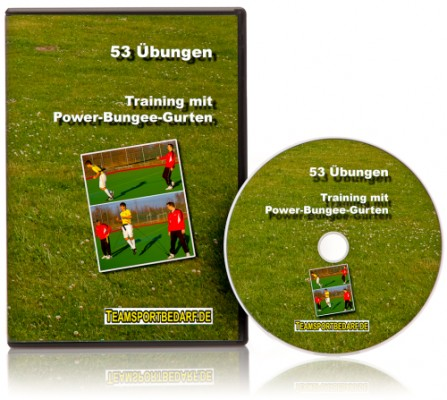DVD - Training mit Power-Bungee-Gurten (53 Videos)