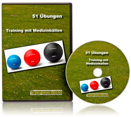 DVD - Training mit Medizinbällen (51 Videos)