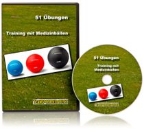 DVD - Training mit Medizinbällen (51 Videos)