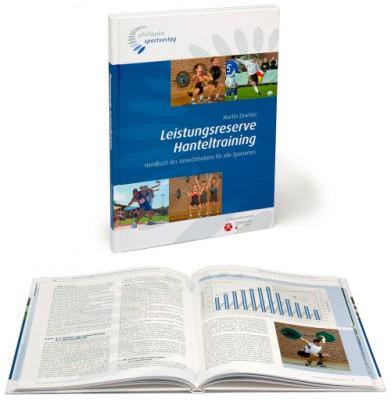 "Trainingsbuch - ""Leistungsreserve Hanteltraining"""