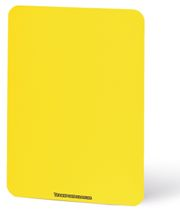 Referee's Disciplinary Card – neon yellow