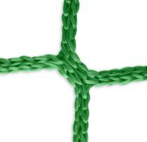Goal net (green) - 5 x 2 m, 4 mm PP, 80/150 cm