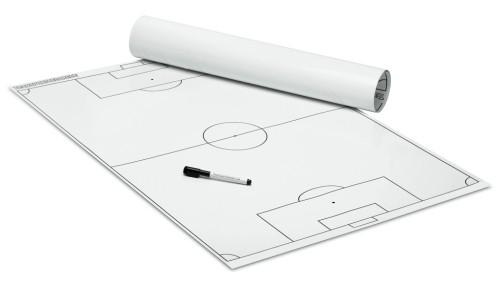 FUSSBALL - TAKTIKPOSTER (Weiß) 600 x 800 mm