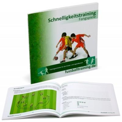 """Fussball Trainingsbuch - """"Fangspiele - Schnelligkeit"""""""