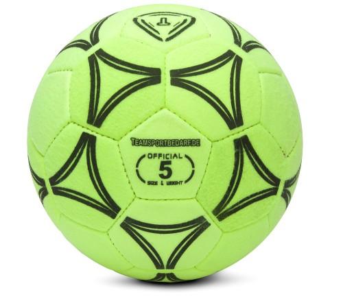 Fussball - hochwertiger Filz-Hallenfussball (Größe 5)