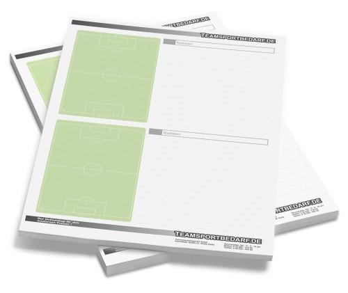 Fussball - DIN A4 Notizblock 50 Blatt