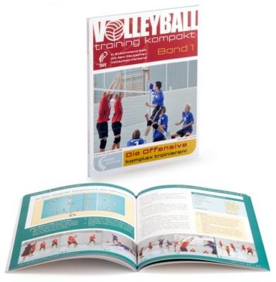 """Volleyball Trainingsbuch - """"Die Offensive komplex trainieren"""" Band 1"""
