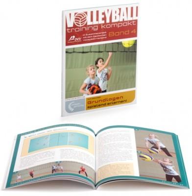 """Volleyball Trainingsbuch - """"Grundlagen - spielend erlernen"""" Band 4"""