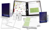 FOOTBALL - TRAINER SET 2 (tactical map + workbook + notebook + notepad + game observation sheets)