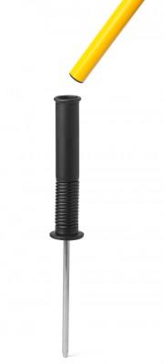 Kippfuß (Kunststoff) - für Stangen ø 25 mm