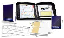 HANDBALL - TRAINERSET 3 (Trainermappe + Arbeitsbuch + Notizbuch + Notizblock + Spielbeobachtungsblätter)