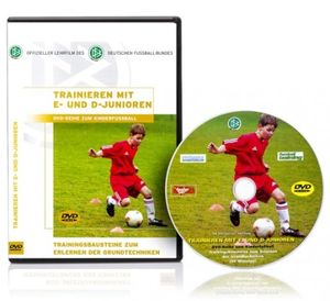 dvd trainieren mit e und d junioren fussball trainingshilfen. Black Bedroom Furniture Sets. Home Design Ideas