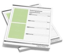 Football – DIN A4 notepad Training planner 50 sheets
