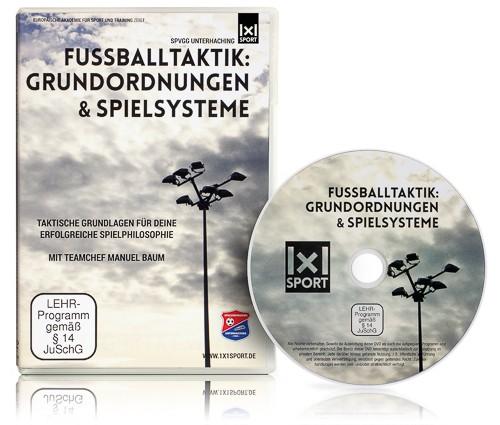DVD - Fussballtaktik: Grundordnungen & Spielsysteme