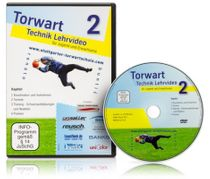 DVD - Torwart-Technik Lehrvideo Teil 2