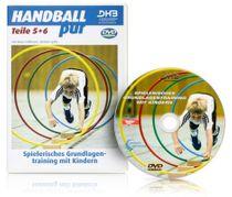DVD - HANDBALL pur Teile 5+6 spielerisches Grundlagentraining