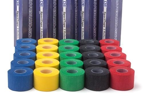 Sporttape - Stutzentape (3,8 cm x 10 m) verschiedene Farben