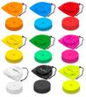 Marker discs Ø 15,5 cm (9 colors) - set of 12