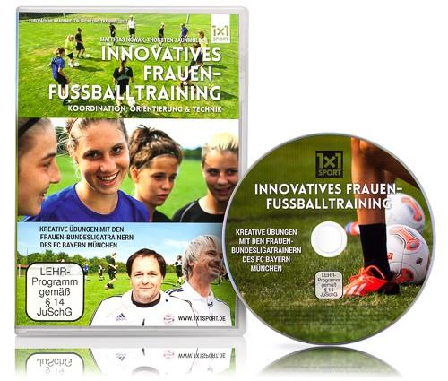 DVD - Innovatives Frauen-Fussballtraining