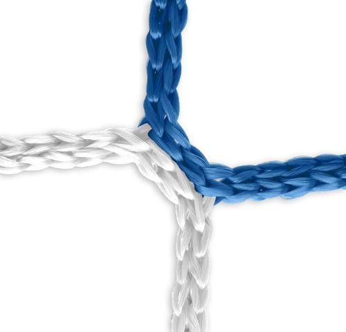Tornetz (blau-weiß) - 5 x 2 m, 4 mm PP, 80/150 cm