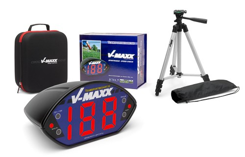 V-MAXX Sportradar (SPEED Check) - inkl. Stativ
