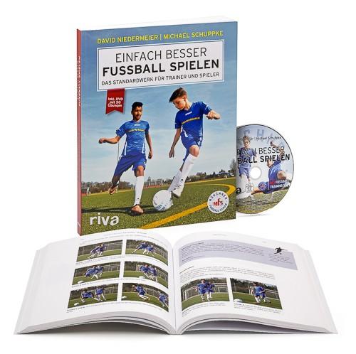 "Fussball Trainingsbuch - ""Einfach Besser Fussball spielen"" inkl. DVD"
