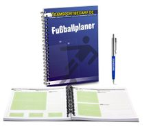 Football planner for coaches - 100 pages