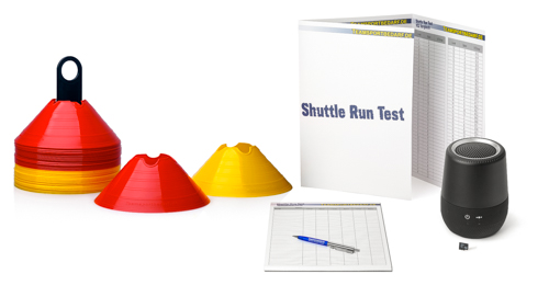 Shuttle run test – Complete set