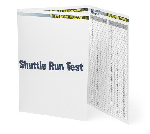 Shuttle-Run-Test - Broschüre