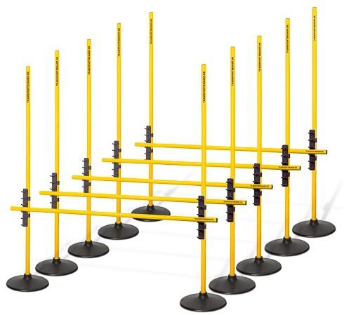 Multi-Hürdensystem 2 (indoor) - 5er Set