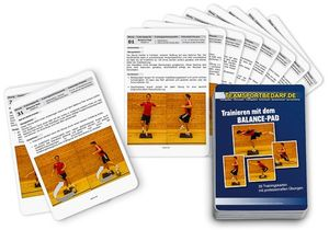 "Trainingskarten - ""Balance-Pad"" (33 Workouts)"