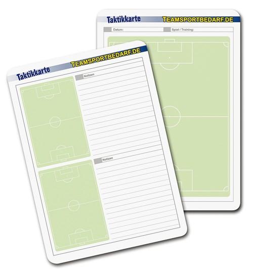 Fussball - Taktikkarten 50er Set (A5 oder A6)