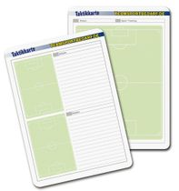 Football – Tactics Cards, Set of 50 (A5 or A6)